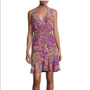 Saloni fleur dress size 2